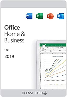 Office Home and Business 2019 for 1 PC   KeyCard (not CD)   Lifetime License   New
