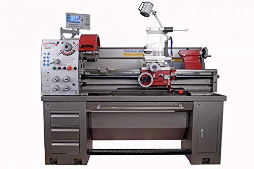 PAULIMOT Drehbank/Drehmaschine PM5000 Professional mit 400 Volt Motor / 1,5 kW und Messsystem