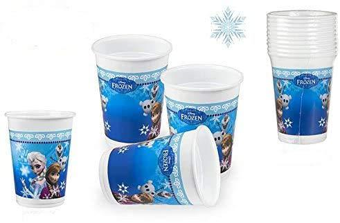 DISOK - Pack 10 Vasos Frozen 200 Ml - Vasos Cumpleaños Fiestas...
