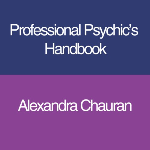 Professional Psychic's Handbook audiobook cover art