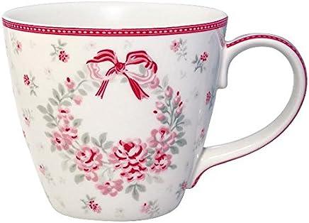 Preisvergleich für GreenGate -Mug/Becher- Flora white