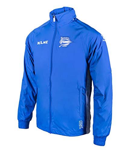 Alavés Sport-regenjas, voor volwassenen, unisex, blauw, XS