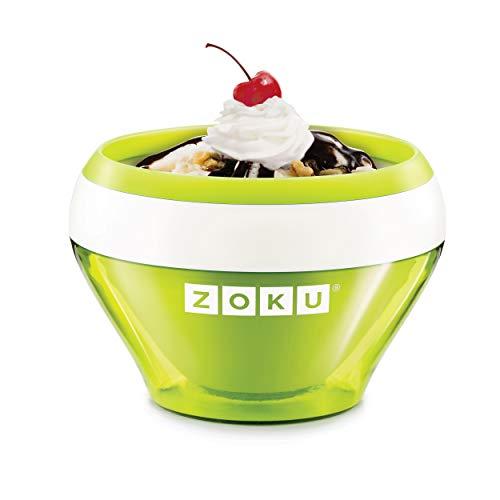 Zoku Ice Cream Maker-Green, 14 x 14 x 9,5 cm