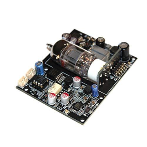 Cimoto TSQ875 Placa Receptora 12AU7 Tubo para CSR8675 5.0 Placa Receptora de Audio ES9018 Decodificador DAC 12S Se?Al Digital APTX AUX F / 12V 24V Amplificador para AutomóVil