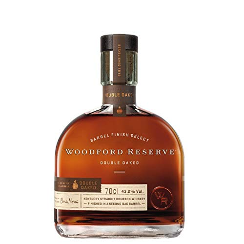 Woodford Reserve Double Oaked Kentucky Straight Bourbon Whisky, 700 ml