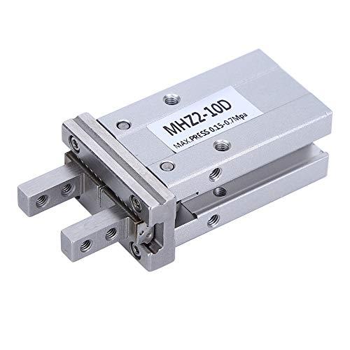 Cilindro de dedo neumático de acero MHZ2 Cilindro de aire de sellado de pinza de aire de doble efecto(MHZ2-10D)