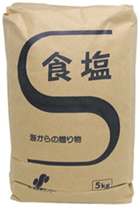日本海水)食塩 5kg