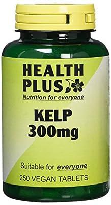 Health Plus Kelp 300mg Body Shape Plant Supplement - 250 Tablets from Health + Plus Ltd