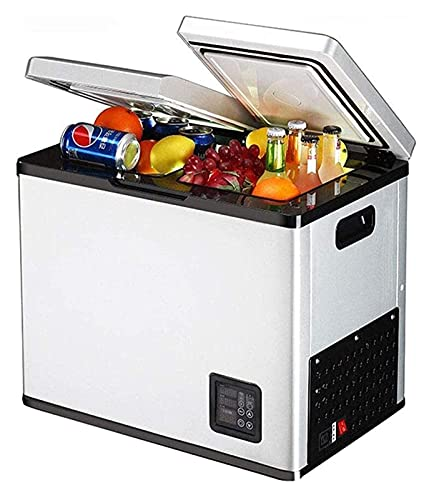 FDSZ Mini Nevera congelador, refrigerador de Dos Puertas refrigerador refrigerador de refrigeración, Viajes a Domicilio Carro de Oficina, 18 l