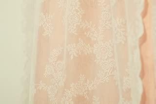 Ikea Alvine Spets Sheer Curtain 2 Panels, Off-white