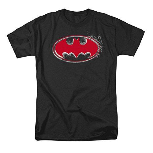 Camiseta com logotipo Batman Hardcore Noir, Preto, X-Large