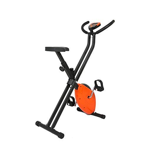 RXRENXIA F-Bike 150/200B Bicicleta Estática,Bicicleta Elíptica,Generador De Energía Integrado, Entrenador Elíptico con Consola Y Soporte para Tablet,Plegable,Unisex