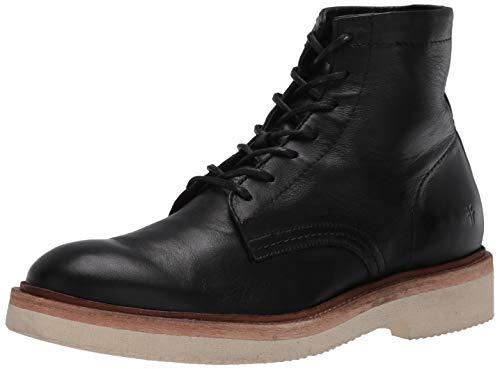 Frye Men's Bowery LT Lace Up Combat Boot, Black, 8.5