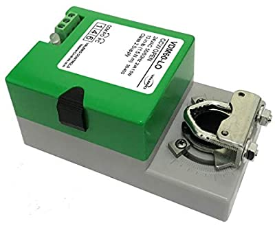 Valemo VDM60-LO HVAC Damper Actuator, 24VAC/DC On/Off, Floating Non-Spring Return
