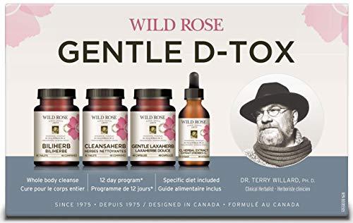 Wild Rose Wild Rose Kit 1 caja del programa Gentle D-Tox 200 g