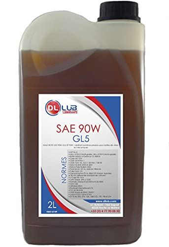 DLLUB - HUILE BOITE SAE 90W GL5-2 litres