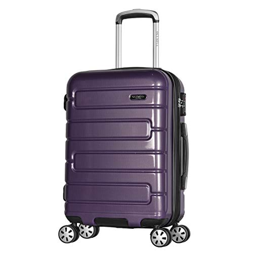 Olympia Nema 22' Exp. Carry-on Spinner, Purple, One Size