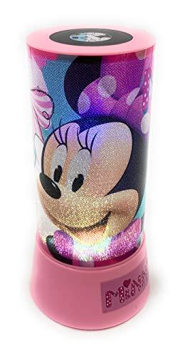 Disney- Minnie, proiettore LED cilindrico, WD19712
