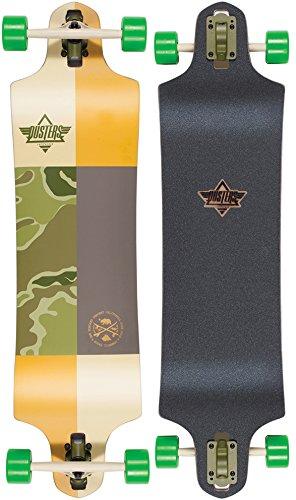 Dusters Scout Dropdown Kryptonics Skateboard Longboard Green, 38
