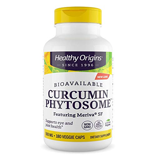Healthy Origins - Curcumin Phytosome de Bioavailable - 180Capsule(s) vegetal