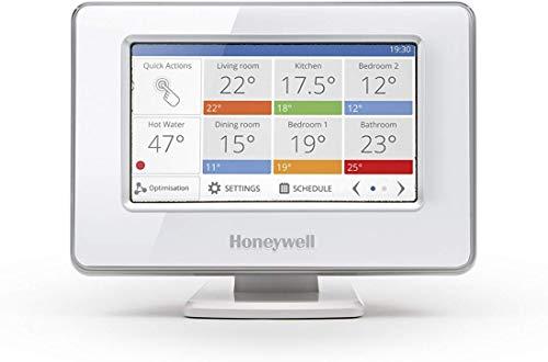 Honeywell Home ATP921R3052 evohome Wi-Fi Zentrales Bediengerät, weiß