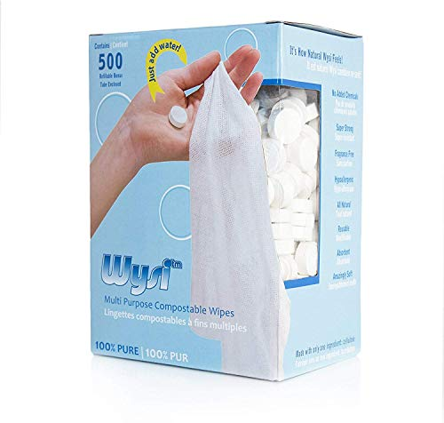 Wysi - Wipe 500 Biodegradable Wipes