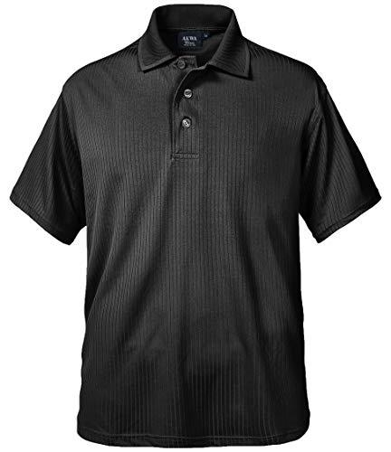 Akwa Men's Made in USA Polo Tee Shirt 100% Dry...