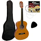 Tiger 3/4 Size Classical Spanish Guitar Beginners Complete Starter Kit