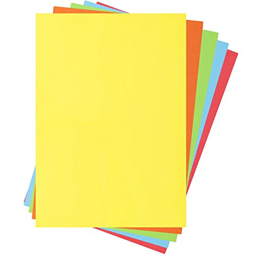 Pixel A4 80gsm Assorted Coloured Bright Paper 100 Sheets