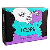 LOOPY Conversation Game for Couples - 210 Deep and Thought Provoking Question Cards - Games for Couples for Date Night to Improve Communication and Relationship