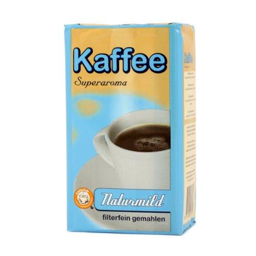 Cafeclub Supercreme NaturMild Gemahlener Kaffee 500gr