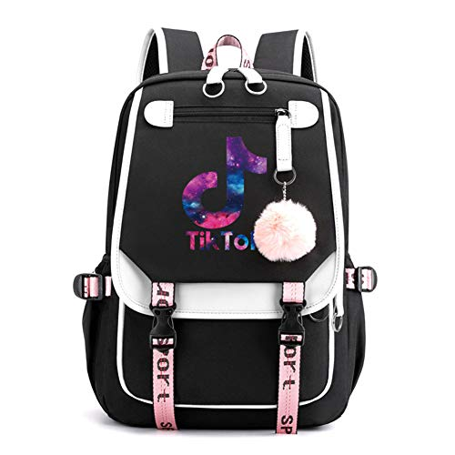 FEIFEI Popular Backpack with USB Rechargeable, with Popular Tiktok Backpack, Suitable for Backpacks for Teenagers and Students Multifunctional backpack