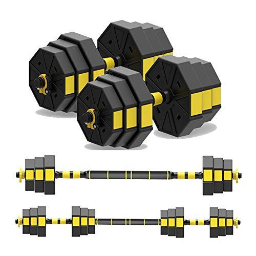 Gratis Hantel-Set, multifunktionale Hantel-Push-Up-Ständer, für Krafttraining, Gewichtsverlust, Trainingsbank, Fitnessgerät, geeignet für Männer und Frauen, 2-teiliges Set, Ein Paar, 15KG/33Lbs