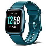 Orologio Fitness Smartwatch Uomo Donna, Blackview Fitness Tracker con cardiofrequenzimetro Sleep Monitor per Android iPhone Huawei Samsung Xiaomi, Impermeabile 5ATM Orologio Sportiv