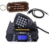 QYT KT-980PLUS 50W Mobile Radio 144-148/420-450mhz Ham Radio Base Station w/Cable