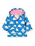 Hatley Printed Raincoat Abrigo para lluvia, Nubes alegres, 18-24 meses Bebé-Niñas