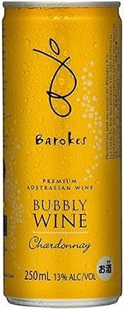 バロークス スパークリング缶ワイン プレミアム・バブリー・シャルドネ オーストラリア スパークリング 250ml