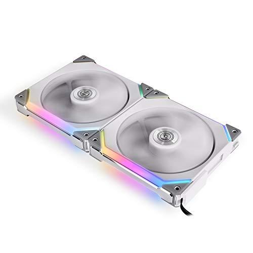 Lian Li UNI FAN SL140 RGB PWM, doppia confezione, bianco - 140 mm