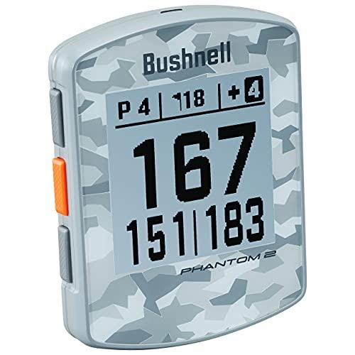 Bushnell Phantom 2 GPS DE Golf, Adultos Unisex, Gris Camo, Talla Unica