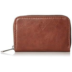 [イーエルエー] Amazon限定 小銭入れ コインケース カードケース コンパクト 紳士財布 YKK製ファスナー 化粧箱入り ELA-AZ014 ブラウン