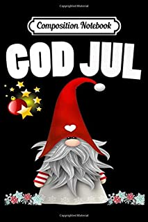 Composition Notebook: God Jul Swedish Merry Christmas Sweden Tomte Gnome  Journal/Notebook Blank Lined Ruled 6x9 100 Pages