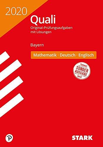STARK Original-Prüfungen Quali Mittelschule 2020 - Mathematik, Deutsch, Englisch 9. Klasse - Bayern