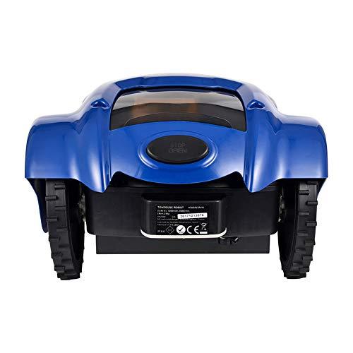 GW Cortacésped Inteligente, cortadora de césped para el hogar, cortacésped de Carga automática, Comando de Control Remoto de diseño antirrobo de Seguridad Inteligente
