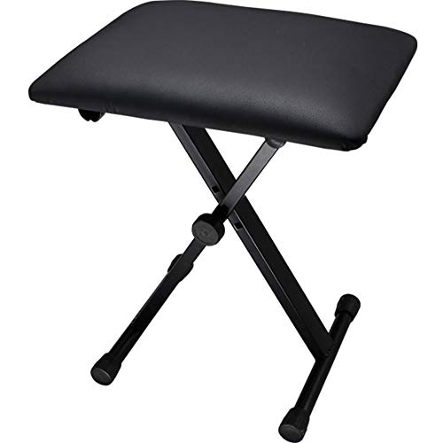 Amazing Deal Piano Bench Stool 1-Person Piano Bench Universal Instrument Chair Three-Position Adjust...