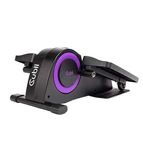 Cubii Junior Under Desk Elliptical Pedal Exerciser - Home Exercise Equipment with Built in Display, Easy Assemble & Adjustable Resistance,purple