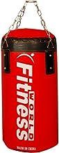 حقيبة ملاكمة 60 سم من فيتنس وورلد، بلون أحمر