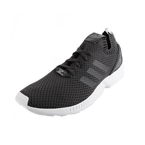 adidas ZX Flux PK Primeknit Solid Grey Black 46