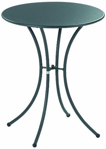 Emu Pigalle 905, Tavolo tondo Ø 60cm in acciaio, colore Ferro Antico (cod. 22 )