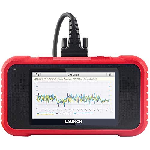 LAUNCH CRP123E OBD2-Scanner Motor/Getriebe/ABS/Airbag-Auto-Codeleser überprüfen, Live-Daten grafisch darstellen, EIN-klick-Fahrgestellnummer identifizieren, EIN-klick-Gratis-Update All Life