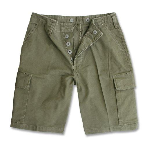 Mil-Tec BW Pantalon moleskine Bermuda, olive - Olive, XL